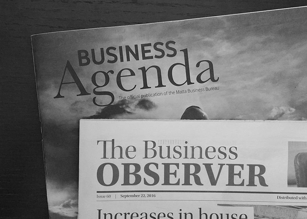 Featured on The Business Agenda & The Business Observer