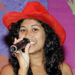 Xanisha - the lead vocalist singer from Goa, India