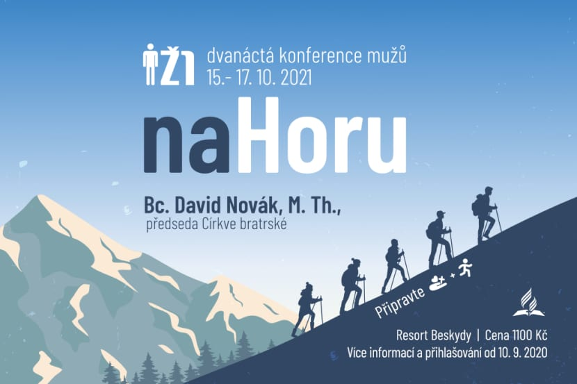 Banner 12. konference mužů