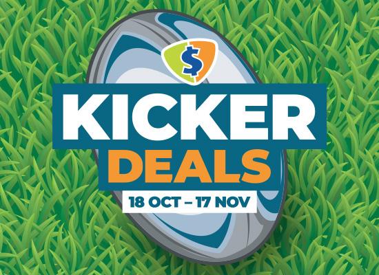 Kicker deals