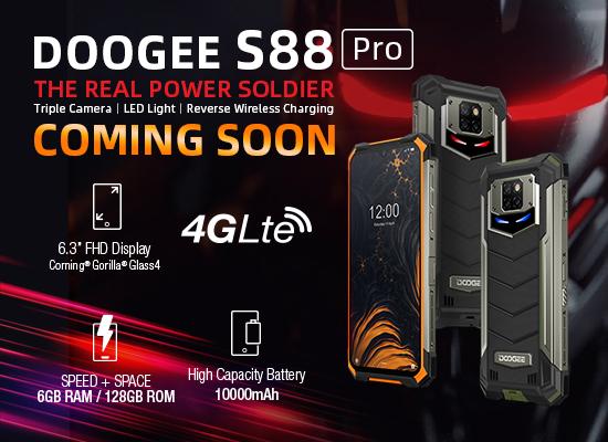 Doogee S88 Coming Soon