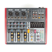 DIXON 5-Channel Ultra-Slim Sound Mixer