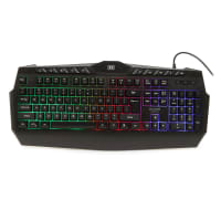 Dixon RGB Backlit Gaming Keyboard with integrated palm rest