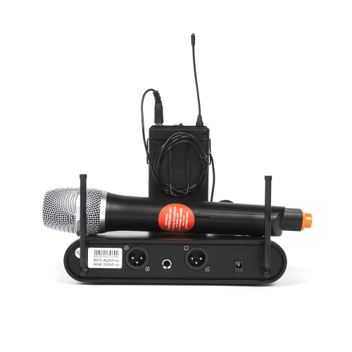 DIXON UHF Professional Wireless Handheld Microphone Set