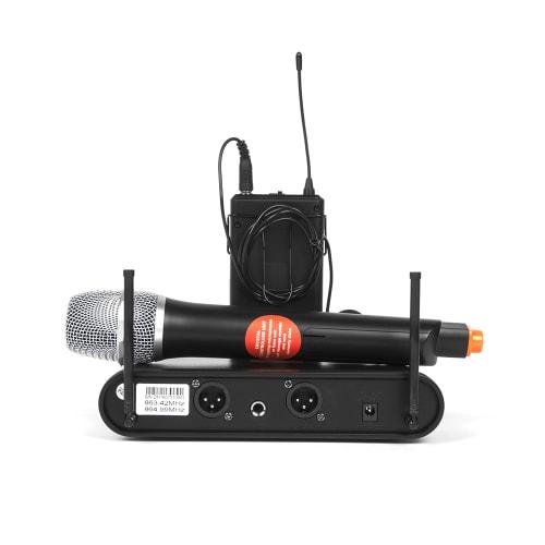 Dixon Uhf Professional Wireless Handheld Microphone Set ...