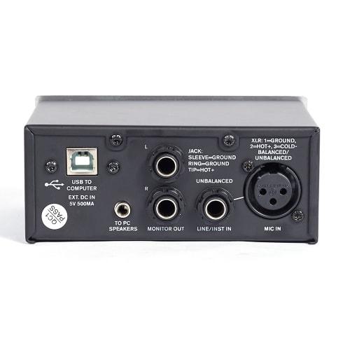 DXNPRO USB Audio Interface – mic/guitar pre-amp
