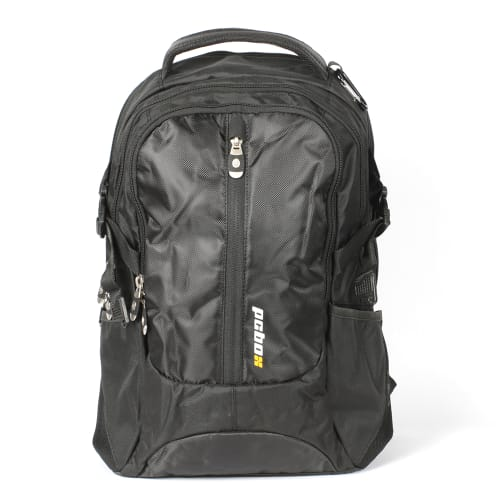 "PCBOX 15.6"" Laptop Backpack – with airsoft back panel - Black"