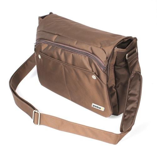 PCBOX  Laptop Bag - Brown