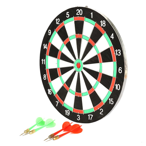 """12"""" Paper Dart Board – with metal wired web"""