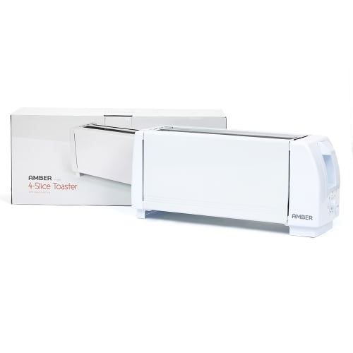 AMBER 4-Slice Toaster
