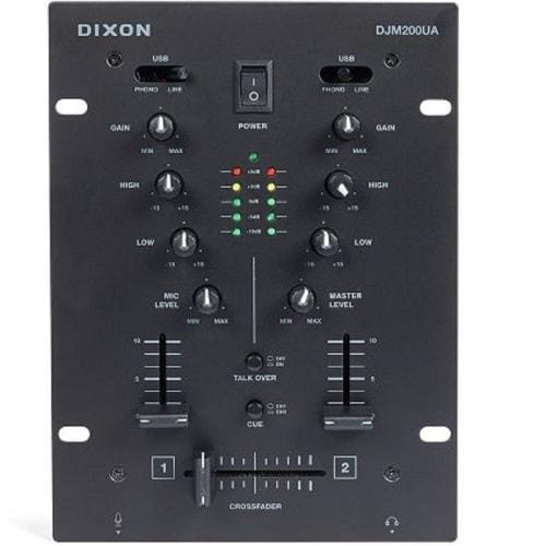 DIXON 2CH SCRATCH MIXER (DJM-200UA)
