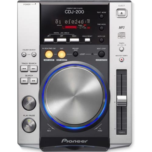 PIONEER SILVER DIGITAL CDJ TURNTABLE (CDJ-200)