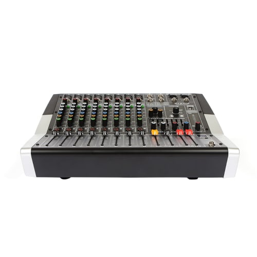 DIXON 8-Channel Powered Mixer 2 x 300W RMS 4 Ohm