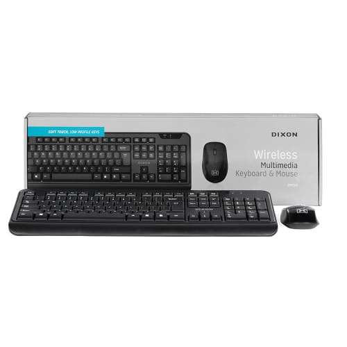 DIXON Wireless Optical Mouse and Keyboard