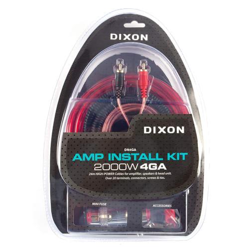 DIXON 2000W 4GA Amp Installation Kit