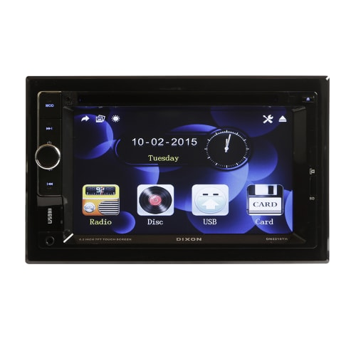 "DIXON 6.2"" DVD & Digital Receiver"