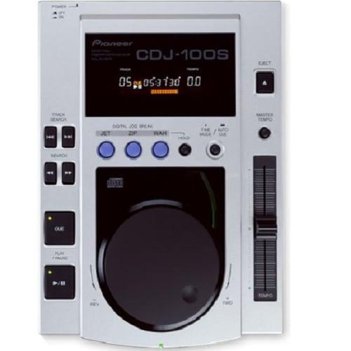 PIONEER SILVER DJ DIGITAL CD MIXER TABLE (CDJ-100S)