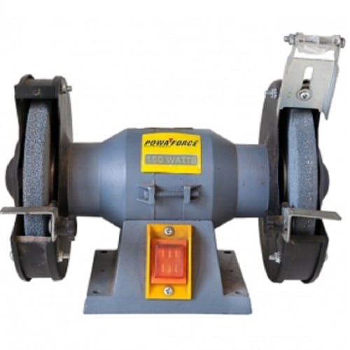 Marvelous Pre Owned Powaforce 150W Bench Grinder Pf150Bg Cash Gmtry Best Dining Table And Chair Ideas Images Gmtryco