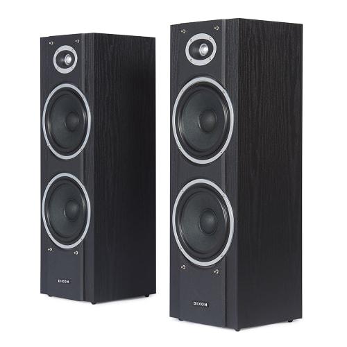 "DIXON Dual 8"" Stereo Speakers"