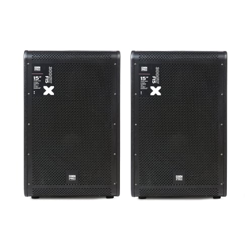 "DXNPRO 2 x 15"" 3000W PA/DJ Speakers"