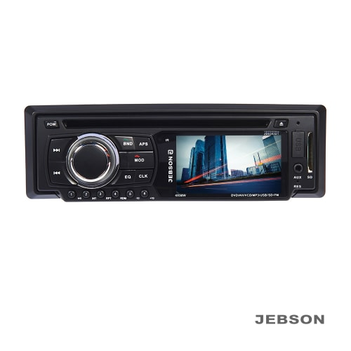 """JEBSON 3"""" Car DVD Player with Aux and USB Card Slot"""