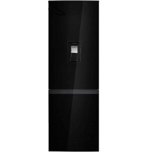 Kelvinator BLACK 420L DOUBLE DOOR FRIDGE (KIL420BFGD)