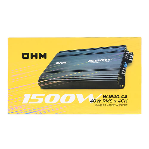 OHM 1500W Amplifier