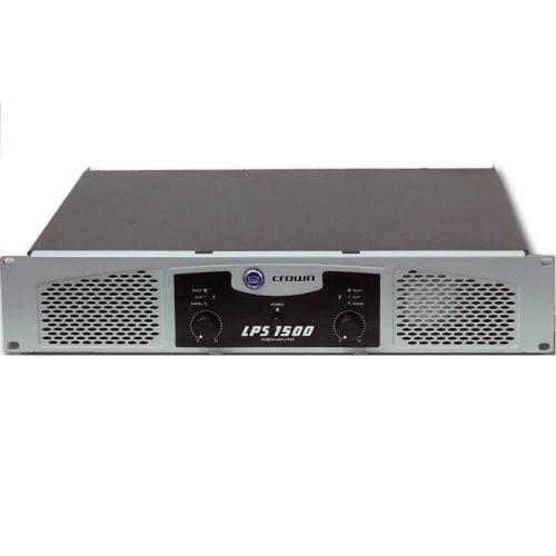 Crown 1500W DJ POWER  AMP (LPS 1500)