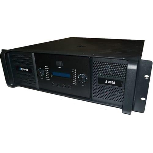 HYBRID 2000W DJ POWER AMP (A-4000)