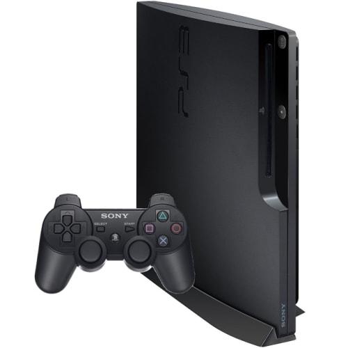 SONY BLACK PLAYSTATION 3 SLIM (160GB)