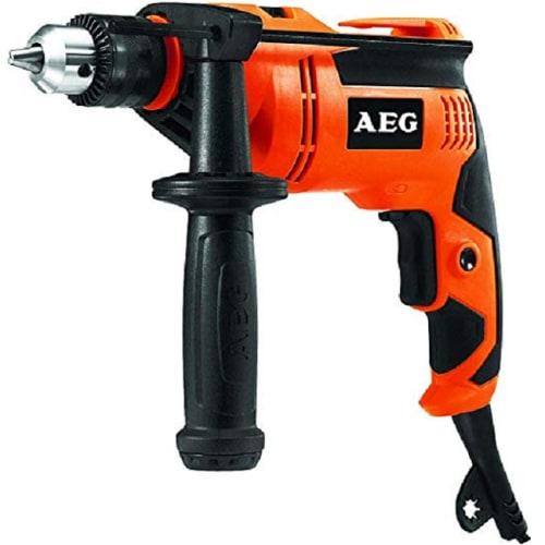 AEG ORANGE/BLACK 630W POWER DRILL (SBE 630R)