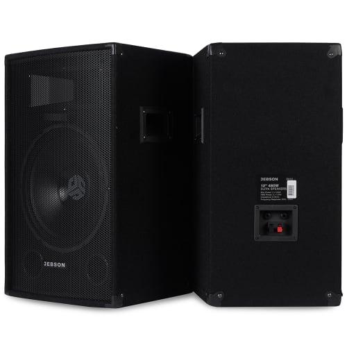 "JEBSON 12"" 480W DJ/PA Speakers"