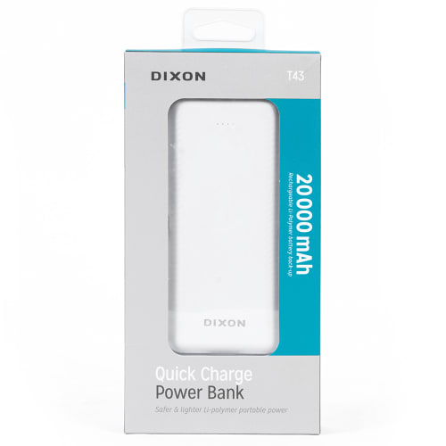 DIXON Quick Charge Power Bank