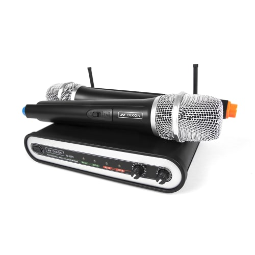 DIXON UHF Professional Wireless Handheld Microphone Set