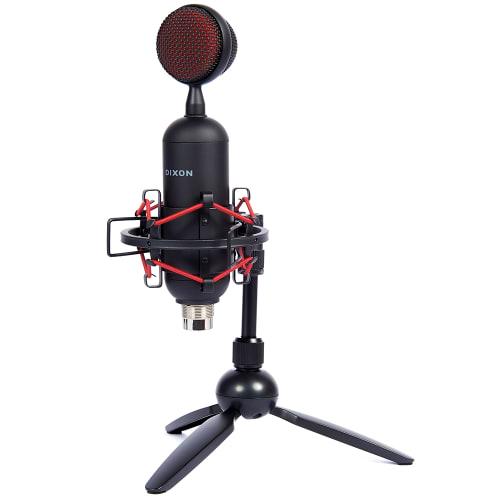 DIXON USB Bullet Studio Condenser Microphone Kit