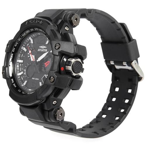Aviator Digital Sports Watch