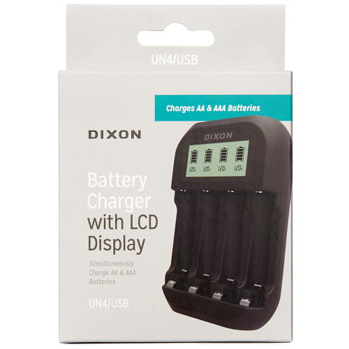 DIXON LCD Battery Charger