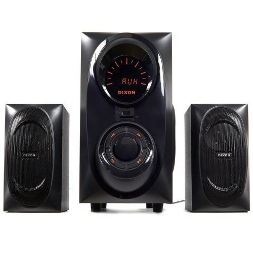 Dixon 2.1-channel Multimedia Bluetooth Speaker System