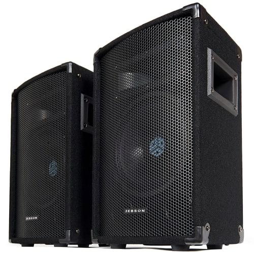 "JEBSON 8"" 240W DJ/PA Speakers"