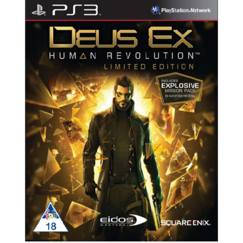SONY DUES EX: HUMAN REVOLUTION (PS3)
