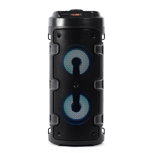 Dixon Stereo Bluetooth Speakerwith Grab & Go Handle & Adjustable Strap