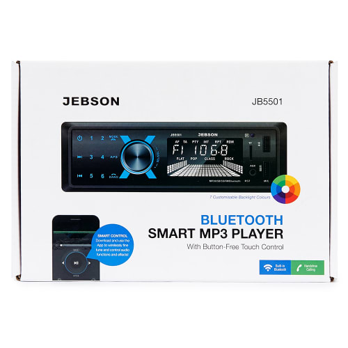 Jebson Bluetooth Smart MP3 Player with Button-free Touch Control