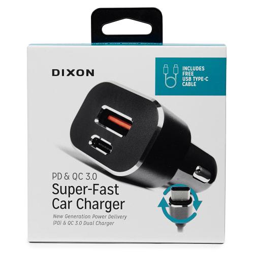 Dixon PD & QC 3.0 Car Charger