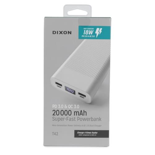 Dixon Super-fast 20 000 mAh Powerbank