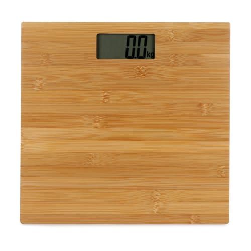 Dixon Digital Bamboo Bathroom Scale