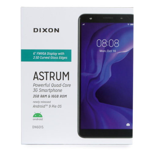 Dixon Astrum Quad-Core 3G Smartphone with 6-inch Display