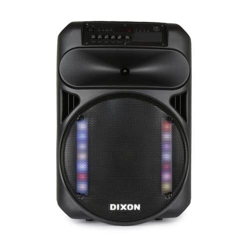 Dixon 15-inch Battery-powered Party Speaker