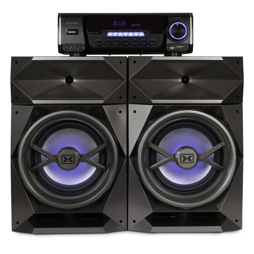 Dixon Home Audio System with Bluetooth
