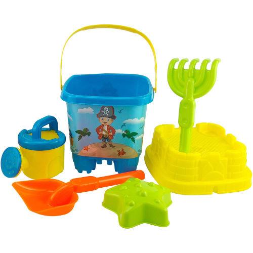 6-piece Bucket & Spade Beach Set