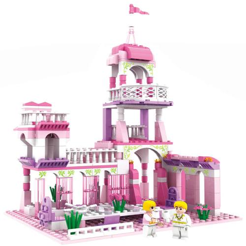 254-piece Castle Block for Girls